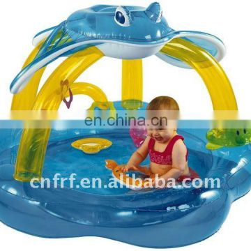 Inflatable Baby Swimming Pool with Tent
