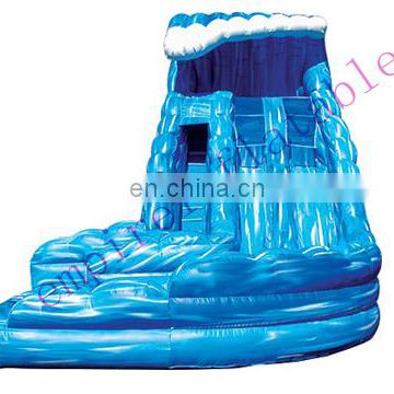 cheap water wave inflatable slide for sale WS003