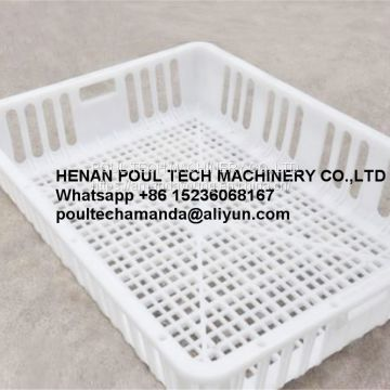 Philippines Wholesale New Plastic Live Chicken Cage & Plastic Chicken Transport Cage for Live Chicken in Poultry Broiler Farming
