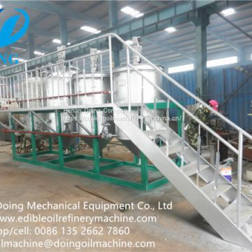 vegetable oil refining machine price, edible oil refinery plant cost