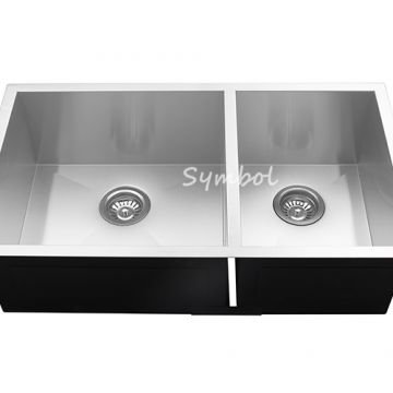 32 Inch Double Under Counter Stainless Steel Sink