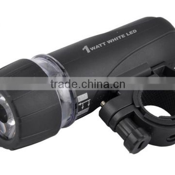 wholesale White light 1W LED Bicycle Front Light manufacturer china