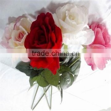 SJ20170010 artificial real touch silk flower rose bud