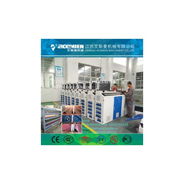 Automatic pvc plastic glazed tile machine