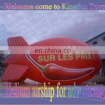 Helium airship for Advertising