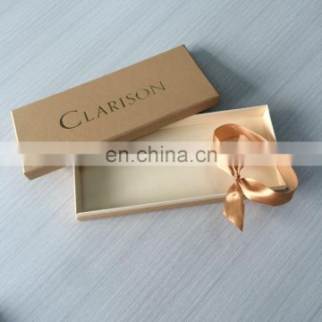 Fashion Custom Design Free Sample Beige Textured Color Small and Big size Christmas Gift Box Set