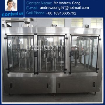 3 in 1 Automatic PET Bottle Mineral Water Filling Machine/ glass filling mahcine