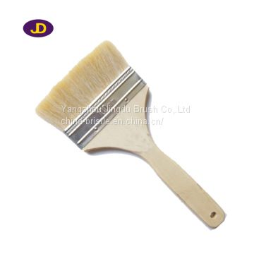 paint brush with wooden/plastic handle