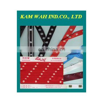 8mm size of Kam plastic snap tape button of Plastic products