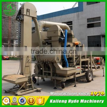 10ton Mobile Combine flax seed cleaning machine