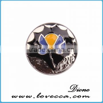 New arrival !!! Hot sale fashion DIY jewelry 18mm snap button charm jewelry