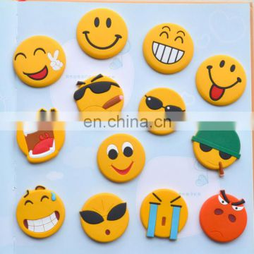 hot sell good quality funny emoji cute smile face soft PVC