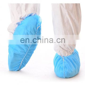 Disposable hospital nonwoven rubber shoe cover