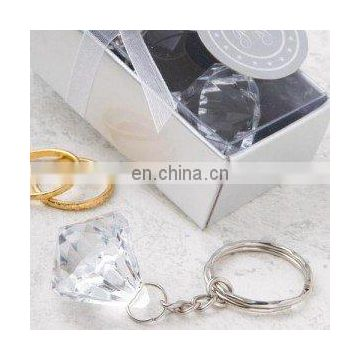 Clear Diamond Collection Diamond Design Key Chain