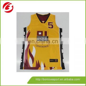 Wholesale Best hot sale Custom Basketball Jersey Design