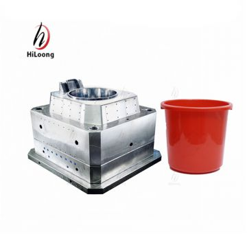 plastic paint bucket mold making taizhou mould factory