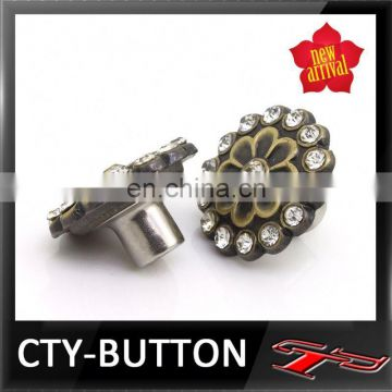 CTY-RB(137) metal button for leather coat buttons