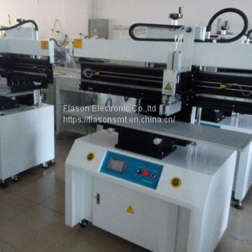 SMT assembly line Semi auto solder paste printer SMT stencil printer