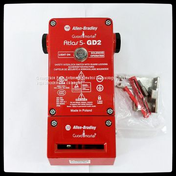 Guardmaster Atlas 5 Guardlock Switch,440G-L07257  110V AC/DC