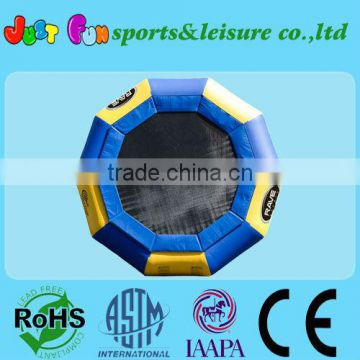Interesting inflatable water trampoline,water park sport game for sale
