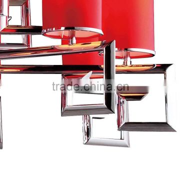 2015 modern new design red discount schonbek chandeliers