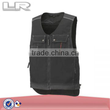 LR Canvas Workwear Vest with Pockets