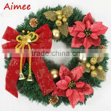2014 wholesale personalized christmas wreaths ornaments,christmas ornament(AM-CD07)