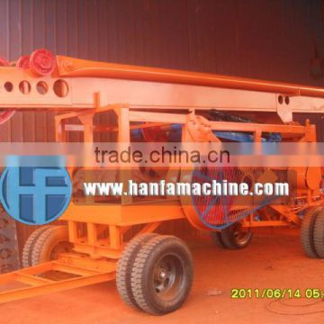 HF-6A piling rig,trailer type, easy to moving