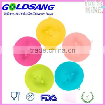 silicone bowl cover pig shaped silicone lid
