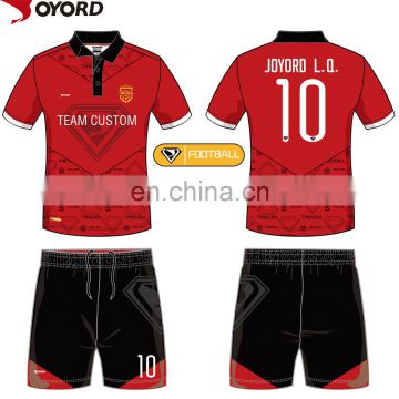 High quality sublimated no logo soccer jersey design your own soccer jersey