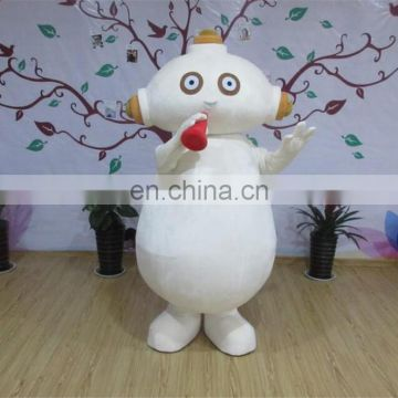 Adult sizes cartoon character Makka Pakka mascot costume for sale