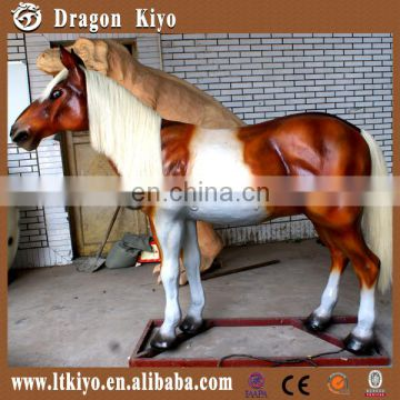 2016 life size animatronic walking animal walking horse