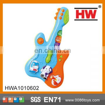 Electric Children Battery Operated Guitar Plastic Mini Toy Guitar