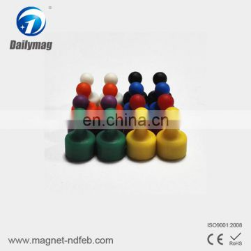 Hot selling durable magnetic push pin strong