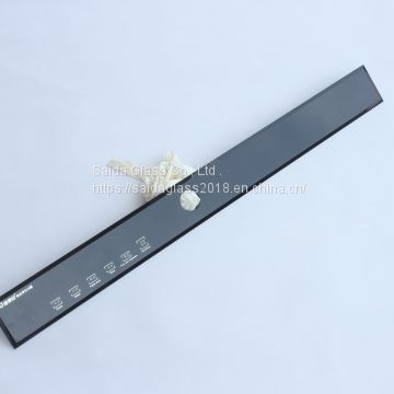 5mm 6mm 8mm touch control panel for kitchen appliance