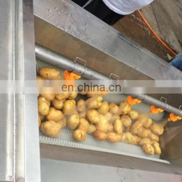 Stainless Steel Automatic Washing Peeler For Carrots Potato