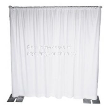 RK exhibition backdrop with velvet drape for trade show