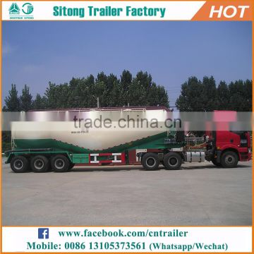 Customized types of tanker trailers dry silo bulk cement