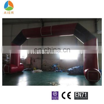 Stitching Durable inflatable arch/sports game start line arch