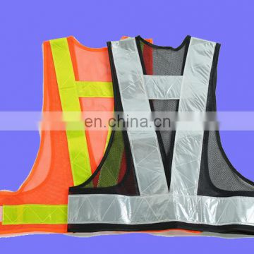 Hi Vis reflective safety running vest