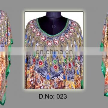 Women digital kaftan