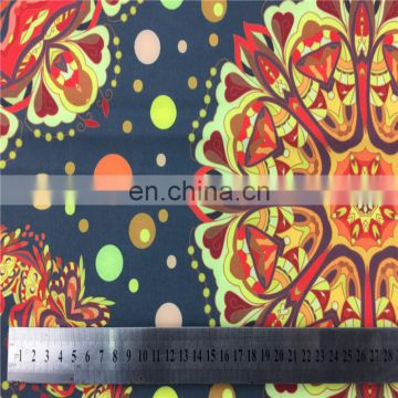 2016 New India Design Print Single Jersey Knitted Fabric For Fashion Dresses