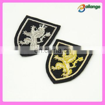 Brilliant high quality custom 100% handmade bullion badge