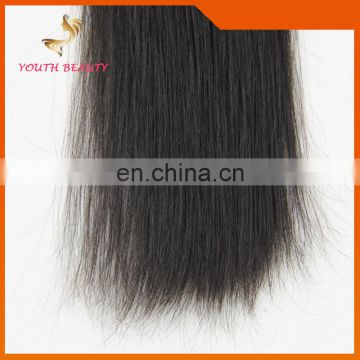 Youth Beauty Hair 100 % Indian virgin remy hair in silky straight 7A 8A Grade Hair Weaving Full Citicle can be dyed