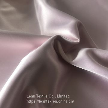 Polyester 75D Dull Stretch Twisted Satin Fabric 95 gsm