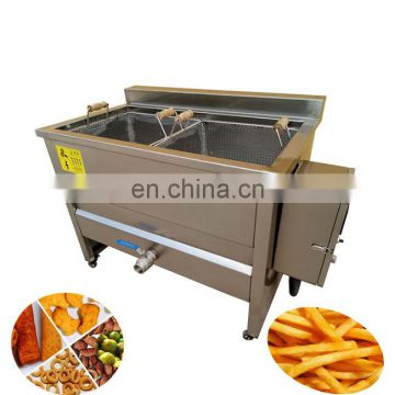 Chicken wings plantain pellet frying machine