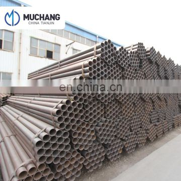 welded erw black steel tube pipe