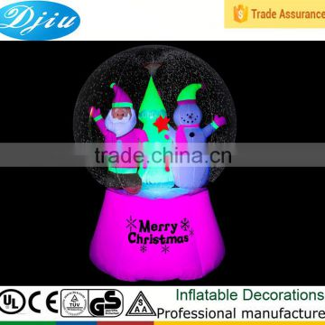 DJ-B-111 outdoor decoration merry christmas roll inside inflatable ball
