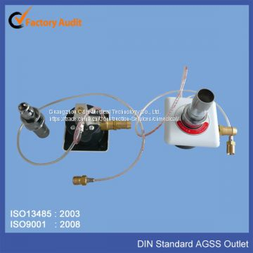 German Standard (DIN) Medical Anaesthetic Gas Scavenging System AGSS AGFS