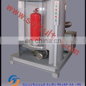 SAITU company automatic labeling machine for fire extinguisher production